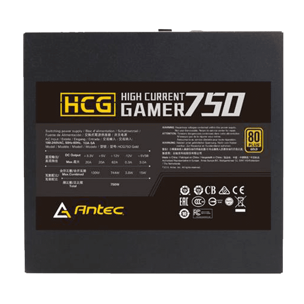 ANTEC High Current Gamer 750W Gold Modular 03