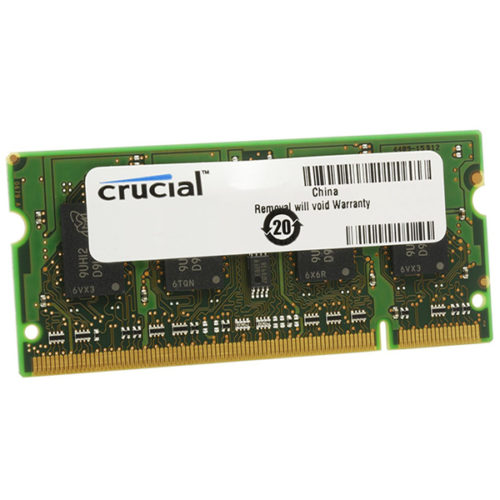 CRUCIAL 2GB DDR3L 1600MHZ SO-DIMM CT25664BF160B