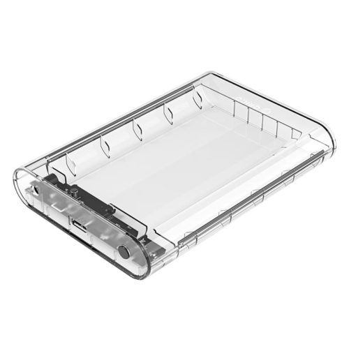Orico 3.5 USB3.0 External HDD Enclosure Transparent 01